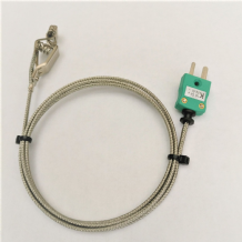 Type k wire air/gas sensor/probe with clip for ovens/fridges .